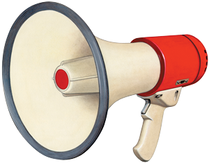 Megaphone_Transparent_PNG_by_AbsurdWordPreferred
