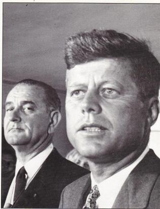 lbj-jfk death stare